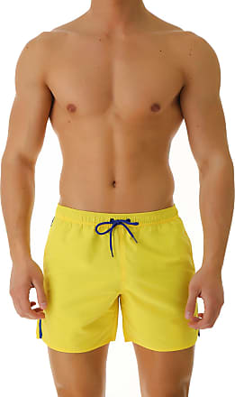 Emporio Armani Swim Shorts Trunks for Men On Sale, Yellow, polyester, 2017, L (EU 50) XL (EU 52)
