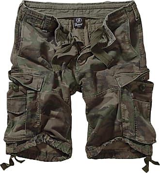 Brandit Basic Vintage Shorts Cargo woodland, Größe XXL