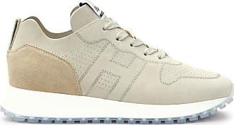 Hogan Sneakers H383, ORO,BEIGE, 34.5 - Scarpe