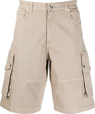 Zadig & Voltaire side pocket cargo shorts - NEUTRALS