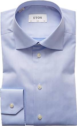 Eton Edles Slim Fit Businesshemd von Eton in Blau für Herren