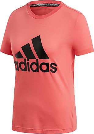 adidas Must Haves Badge of Sport Sweatshirt Mädchen medium grey heather glow pink