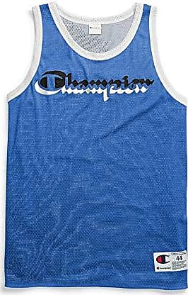 Champion Mens Double Dry Reversible Jersey Tank Top