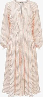Three Graces London Valeraine Dress in Wave Stripe