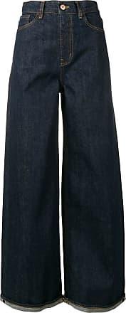 Ymc You Must Create Calça jeans pantalona - Azul