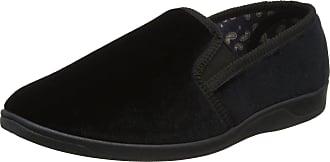 Lotus Mens Wycombe Low-Top Slippers, Black (Black), 9 UK 43 EU