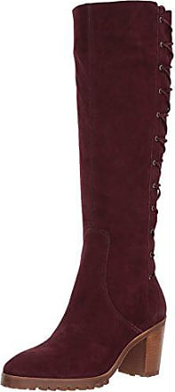 Bernardo Womens Frances Knee High Boot, Bordeaux Nubuck, 10M M US