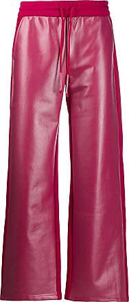 WWWM - What We Wear Matters Calça pantalona com ajuste no cós - Rosa