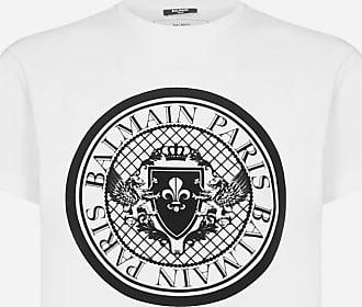 Balmain Logo-medallion cotton t-shirt - BALMAIN - man