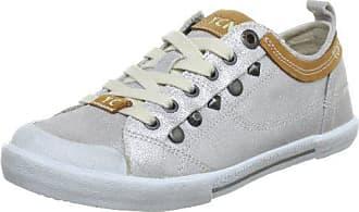 f3f3b887 Yellow Cab Boogie, Zapatillas de Estar por casa para Mujer, Plata-Silber (
