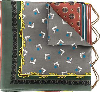 Kolor chain detail silk scarf - Multicolour