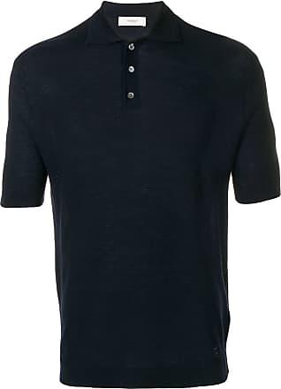 Pringle Of Scotland Camisa polo de tricô - Azul