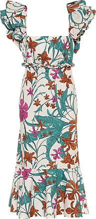 Johanna Ortiz Floral cotton dress