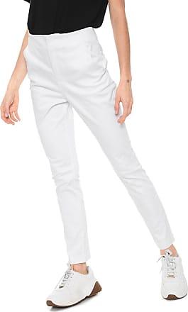 Calvin Klein Calça Sarja Calvin Klein Chino Básica Branca 4ab7854f98