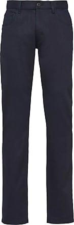 Prada Calça jeans reta cintura baixa - Azul