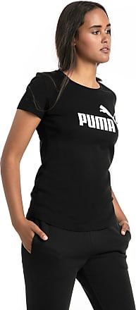 Puma Essentials Damen T-Shirt | Mit Aucun | Schwarz | Größe: XXS