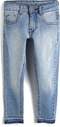 Milon Calça Jeans Milon Menina Lisa Azul