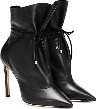 Jimmy Choo London Stitch 100 leather ankle boots