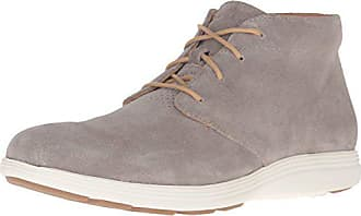 729eee8ea2 Cole Haan Mens Grand Tour Chukka Boot, Desert Taupe Suede/Ivory, 8 M