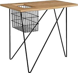 Southern Enterprises AMZ6312CO Nyda end Table, Black