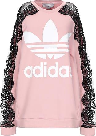 felpa adidas rosa ragazza