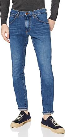 Wrangler Mens Bryson Skinny Jeans, Blue (Game On E), 34W / 32L
