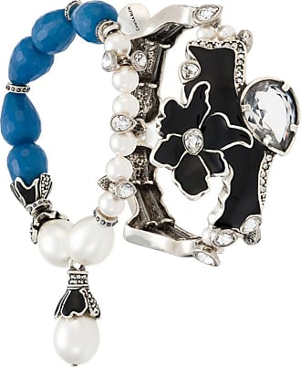 Camila Klein Kit 2 pulseiras esmaltadas - Preto