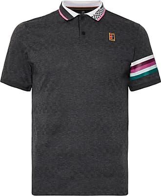 Nike Nikecourt Advantage Dri-fit Tennis Polo Shirt - Dark gray