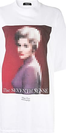 Undercover Camiseta oversized The Seventh Sense - Branco