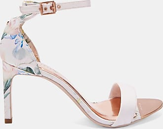 Ted Baker Printed Straight Heel Sandals in Pink ULANIIP, Womens Accessories
