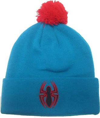 MARVEL Spiderman Marvel Bobble Beanie Blue