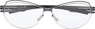 Ic! Berlin Armação de óculos oval Simone - Preto
