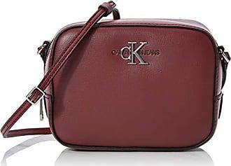 Details zu Calvin Klein Race EW Shopper Umhängetasche Handtasche Tasche Cherry Rot Neu