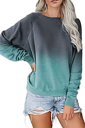damen pullover mit farbverlauf