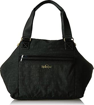Kipling Art S Bag, Black Patent Combo