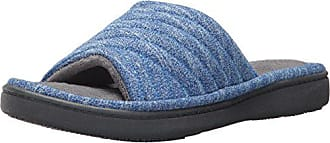 9568e13d5c9eb Isotoner Womens Space Dyed Andrea Slide Slipper with Moisture Wicking for  Indoor Outdoor Comfort and