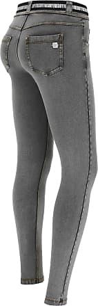 Freddy N.O.W. Pants Denim-effect slim fit tapered leg trousers