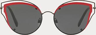 Valentino Valentino Occhiali Occhiale Da Sole Cat-eye In Metallo Donna Nero Metallo 100% OneSize