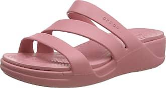 Crocs Womens Monterey Wedge Open Toe Sandals, Pink (Blossom 682), 5 UK 37/38 EU