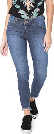 Colcci Calça Jeans Colcci Skinny Fátima Azul