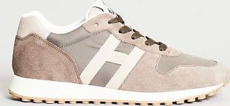 Hogan sneakers camoscio - sabbia