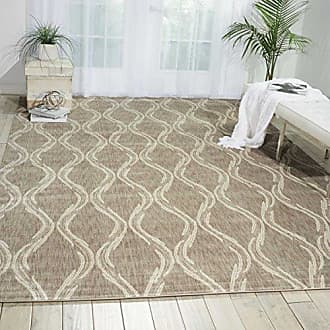Nourison Tranquility (TNQ02) Taupe Rectangle Area Rug, 7-Feet 9-Inches by 10-Feet 10-Inches (79 x 1010)