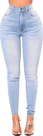 Isshe High Waisted Skinny Jeans Womens High Rise Stretch Trousers Petite Jeans Slim Fit Trouser Ladies Stretchy Distressed Denim Jeggings Pants For Women Pe