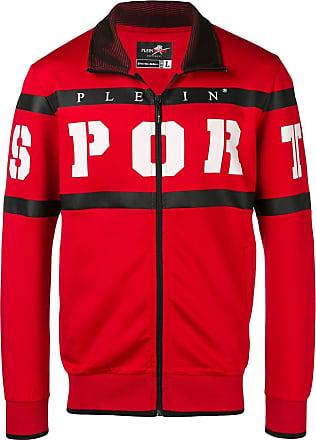 Plein Sport striped logo jacket - Vermelho