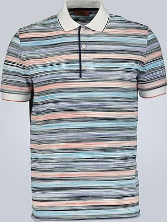 Missoni Striped cotton polo shirt