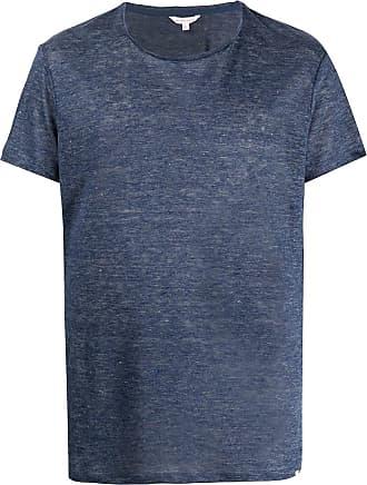 Orlebar Brown Camiseta slim mangas curtas - Azul