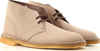 8f4e276e7856f8 Clarks Desert Boots Chukka for Men On Sale, Wolf Grey, suede, 2017,