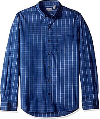 Van Heusen Mens Slim Fit Flex Stretch Non Iron Shirt, Blue Underground Stripe, XX-Large Slim