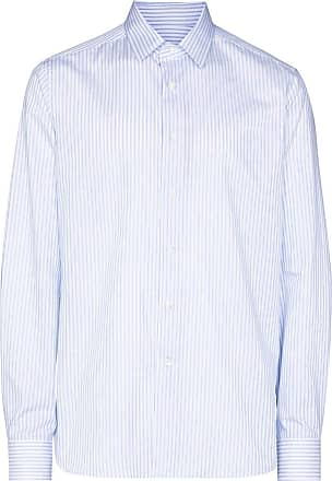 Canali striped shirt - Azul