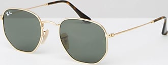 Ray-Ban Runde Sonnenbrille, 0RB3548-Gold